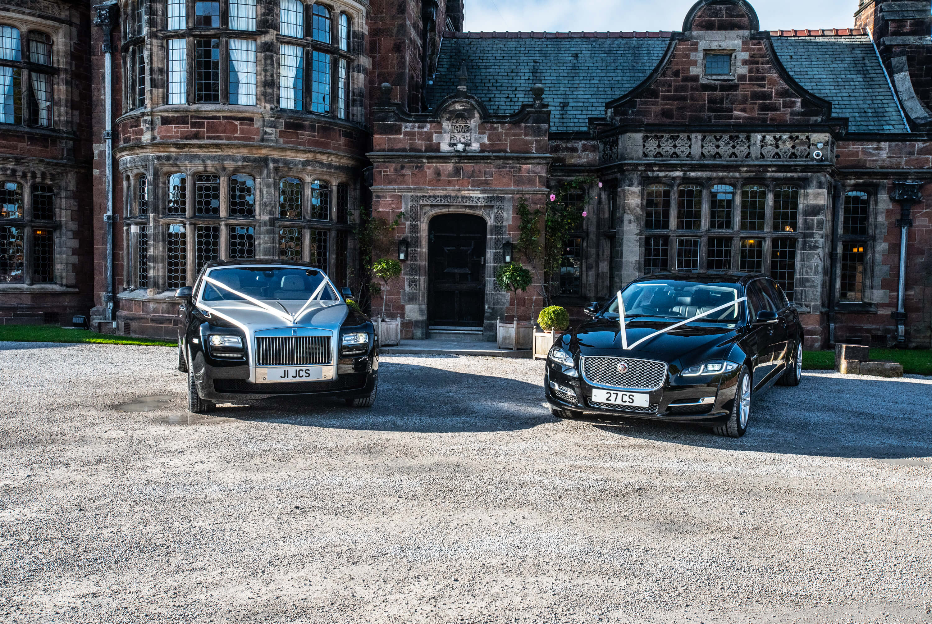 Rolls Royce & Jaguar Wedding Cars